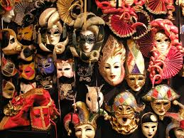 masks alain bkground